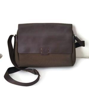 Polo Meisdo bag laptop messenger brown canvas